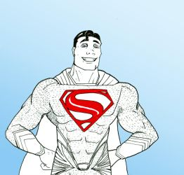 The Man Of Steel by tim-grave