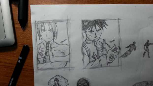 FMA Doodles by muhash14