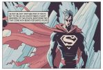 The Man of Steel in his Fortress of Solitude by Kish-M