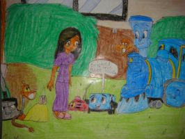 I met Tillie and Chip by Magic-Kristina-KW