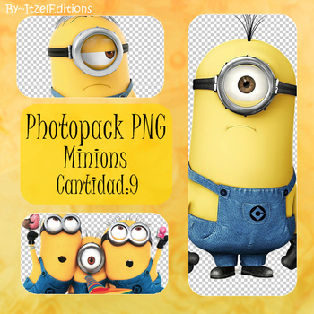 Photopack PNG minions by ItzelBieberHoran