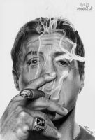 Sylvester Stallone by Mahbopoli