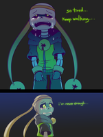 Chasember Challenge: Day 13 Crying/Sad 2/2 by CyaneWorks