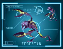 Zebesian Space Pirate 1 by Samolo