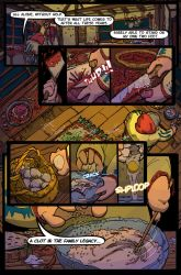 Inquest of Missing Time Vol1 Page by Castiron-Shoe-Monkey