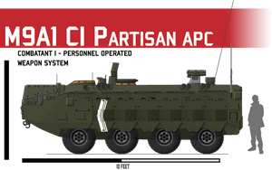 M9A1 APC ICV CI by Afterskies