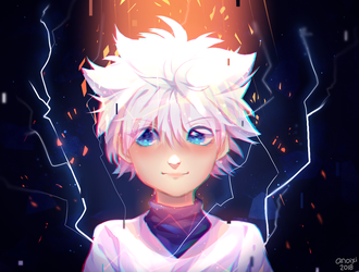 Killua by Anoixi