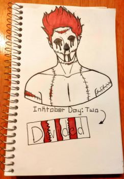 Inktober [Day 2: Divided]  by TheOrangeDaisy