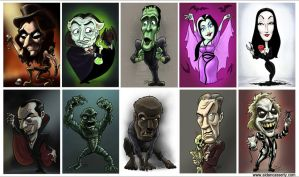 Casserly Caricature Gallery by DadaHyena