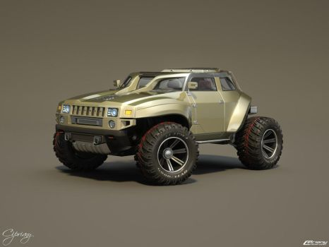Hummer HB concept 12 by cipriany