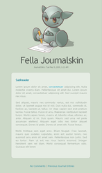 Fella Journalskin v2 by janvanlysebettens