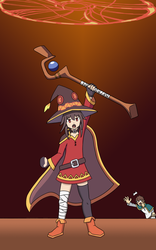 Konosuba - Explosion!!! by elementhedgehog