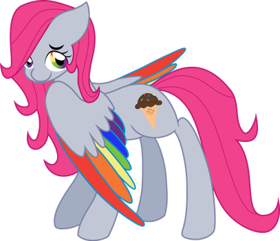 Vector Kind Rainbow Being Cute by NinjaRarity