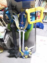 All The Keyblades by Minibobini