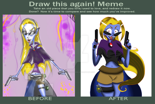 Draw This Again Challenge: Malice