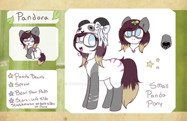 Pandora updated reference sheet by Pandorasia