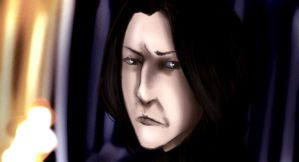 Snape by inicka