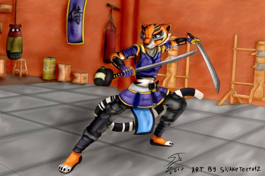 Kiera Nakamura, the Samurai Tigress! by SnakeTeeth12