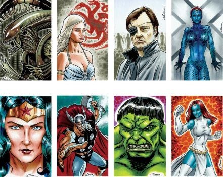 sketch card samples 2 by canthebaran