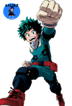 Izuku Render by aaliez