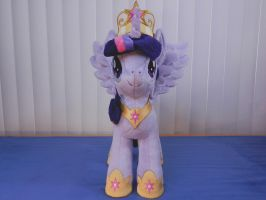 Princess Twilight Sparkle Plush Frontview by EquestriaPlush