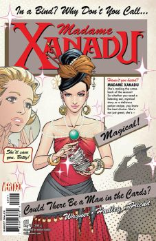 Madame Xanadu Cover 21 by Tentopet