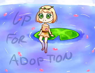 [OPEN OTA] Water Lily by pinktranquility