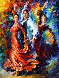 Passion Of The Dance by Leonid Afremov by Leonidafremov