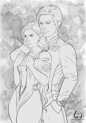 Feyre and Rhys by Wictorian-Art