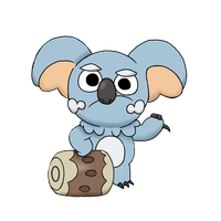 Komala/Nekkoala We bare bears