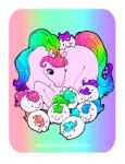 Mommy and babbys by zambicandy