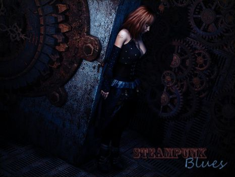Steampunk Blues by DesignsByEve