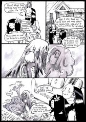 Bite Sized Monster Life: The Visit by AnAdminNamedPaul