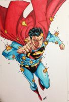 Superman Copics Jonboy by FlatsNColors