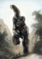 King Kong Colored 4 practice by SpicerColor