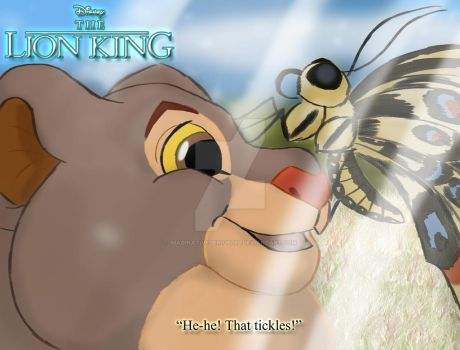The Lion King - Kula and the Butterfly by imaginativegenius099