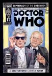 Doctor Who sketch cover comic by whu-wei
