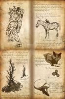 Nightmare Menagerie II by Art-Minion-Andrew0
