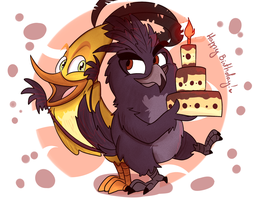 HAPPY B-DAY xxlegendary-furyxx !!! by Whitexkitty
