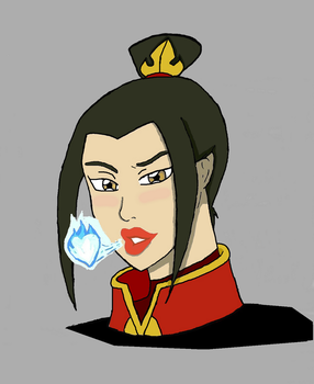 Azula Hot Kiss color by Ryoku21