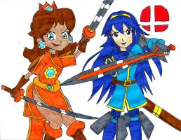 Daisy and Lucina ( Completed ) by PhantomMasterRamos89
