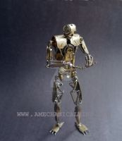 Number 5 (Articulated Watch Parts Figure) by AMechanicalMind