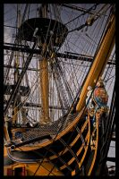 HMS VICTORY by ScarredWolfphoto