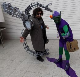 Doc ock and Green goblin LSCC by ramtopsman