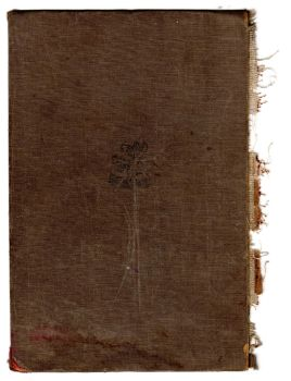 Old textile book cover by mercurycode