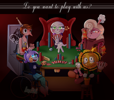 Do you want to play with us? by Lucy-Paint