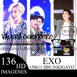 150611 SBS Inkigayo Update With Exo by valeriaaeditions