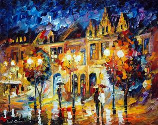 The Return To Dreams by Leonid Afremov by Leonidafremov