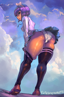 Menat School outfit by cutesexyrobutts