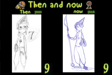 Then and Now - 7 by FostersFan-Imp